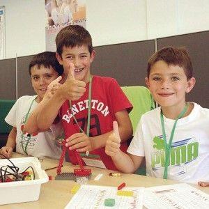 Extraescolares de robotica para niños